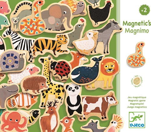 Djeco Magnétiques bois Magnimo