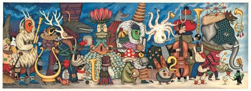 Djeco Puzzles Gallery Fantasy orchestra - 500 pcs - FSC MIX