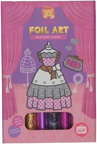 Tiger Tribe Foil Art - Princess Gowns