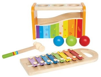 Hape Pound and Tap Bench