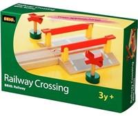 Brio Holz Eisenbahn Bahnübergang 33388-2