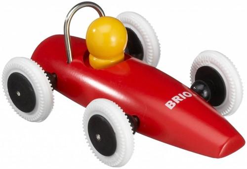 Brio Holz Spielfahrzeug Rennwagen im Display 30077