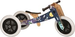 Wishbonebike  Holz Laufrad limitierte Auflage Weltraum