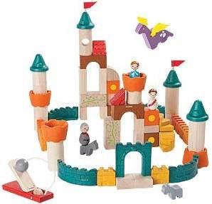 Plan Toys Holzbausteine Schloss