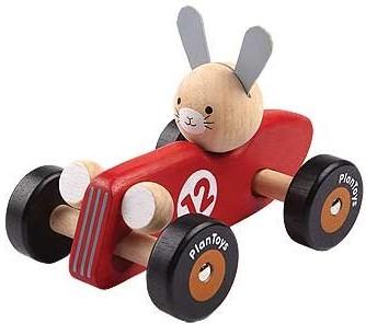 Plan Toys Rennwagen Kaninchen