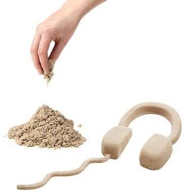 Waba Fun  boetseerset Kinetic Sand 1kg-3