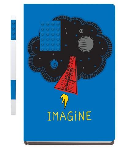 LEGO Notebook Imagine with Gel pen