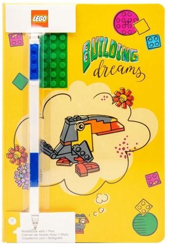 LEGO Notebook Building Dream with Gel pen