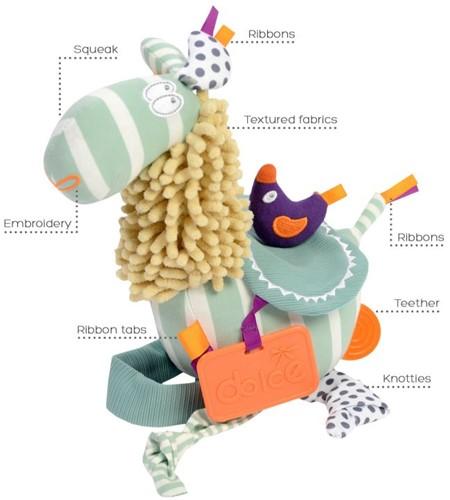 Dolce Toys Llama Pastel