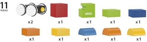 Brio Holzbausteine Neuer Holz-Magnet-Zug 30245-3