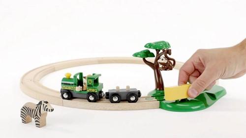 Brio Holz Eisenbahn Set Safari Bahn Set 33720-2