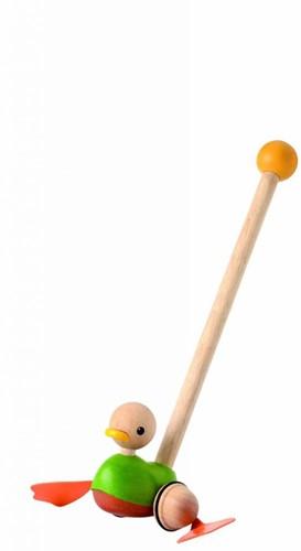 Plan Toys Holz Schiebetier Ente