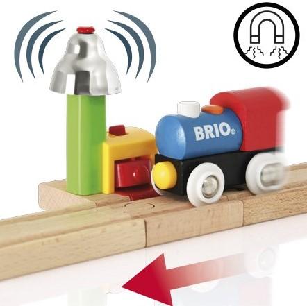 Brio Holz Eisenbahn Zubehör Mein erstes BRIO Glockensignal 33707-2