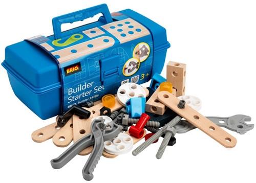 Brio Holz Konstruktionsspielzeug Builder Box 48tlg. 34586