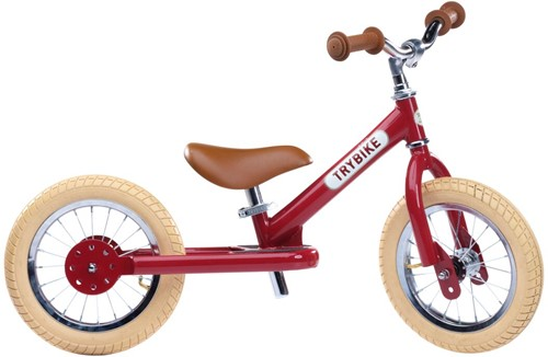 Trybike Laufrad Steel Vintage Rot - Zweirad