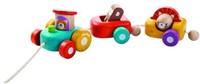 Plan Toys  Holz Ziehfigur Fröhliche Lokomotive