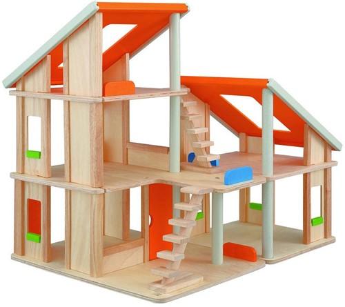 Plan Toys  Holz Puppenhaus Chalet