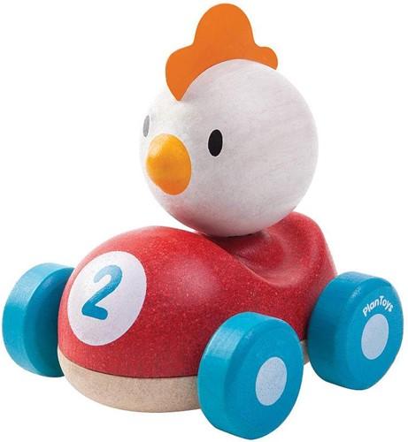 Plan Toys Holz Auto Huhn