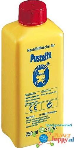 Pustefix  Spielzeug für Draußen Seifenblasen Nachfüllflasche Mini 250ml