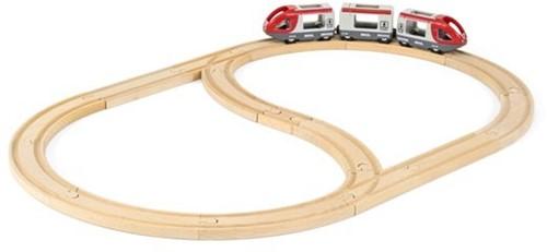 Brio Holz Eisenbahn Set BRIO Eisenbahn Starter Set A 33773-3