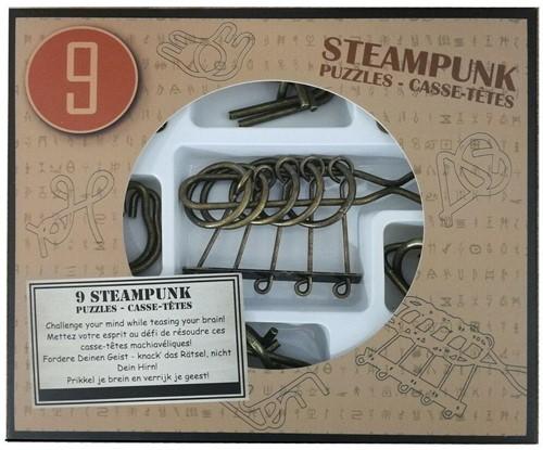Eureka puzzel 9 Steampunk Puzzles *-**** (brown box)