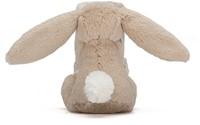 Jellycat  Bashful Schnuffeltuch Hase Beige - 33 cm-2