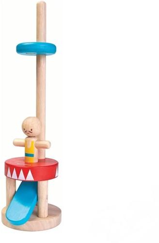 Plan Toys Holz Lernspiel Springender Akrobat 5361