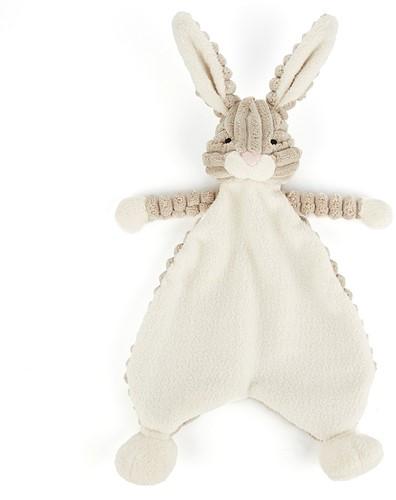 Jellycat  - Cordy Roy Schnuffeltuch Baby Feldhase - 23 cm