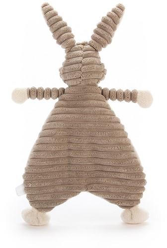 Jellycat  - Cordy Roy Schnuffeltuch Baby Feldhase - 23 cm-2