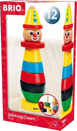 Brio Holz Stapelfigur BRIO-Clown 30120-2