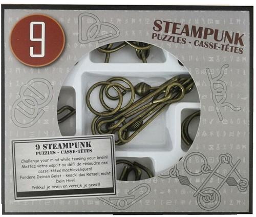 Eureka puzzel 9 Steampunk Puzzles *-**** (grey box)