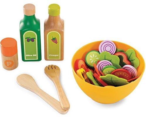 Hape Holzküche Zubehör Gartensalat-Set