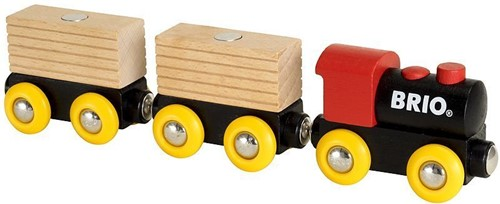 Brio Holz Eisenbahn BRIO Classic Holz-Transportzug 33409