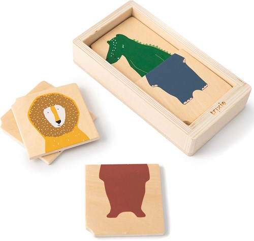 Trixie Wooden animal combo puzzle