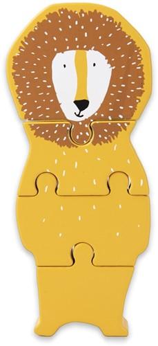 Trixie Wooden body puzzle - Mr. Lion
