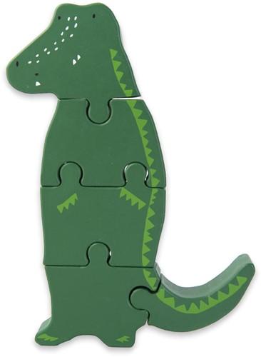 Trixie Wooden body puzzle - Mr. Crocodile