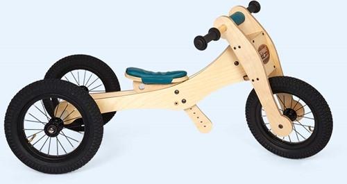 Trybike sattelbezug und kinnschutz blau
