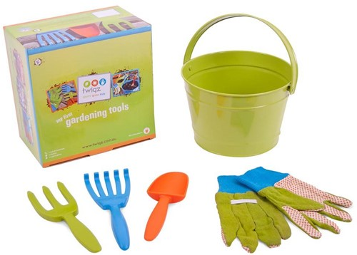 Planet Happy  kinder tuinspullen My first gardening set groen