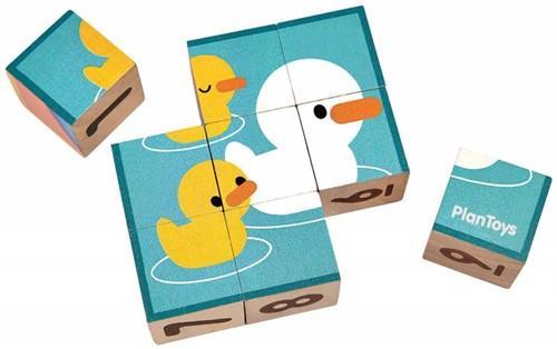 Plan Toys  Holz Würfelpuzzle 5430